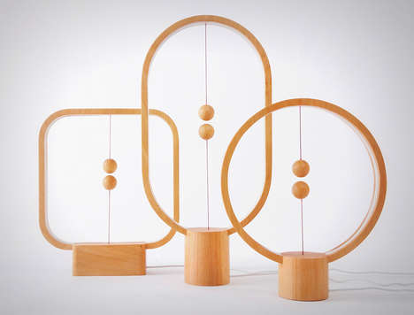 Magnet-Controlled Lamps - This Magnet Lamp Focuses More On Design Than Function