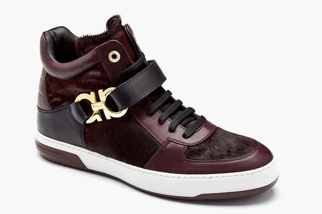 Extravagant Sneaker Series - The Ferragamo Shoe Collection Was Expanded with a Variety of Luxe Looks