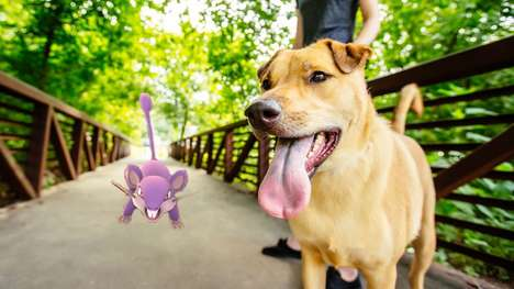 Anime-Inspired Dog Walks - Pokémon Go is Being Used to Attract Animal Shelter Volunteers