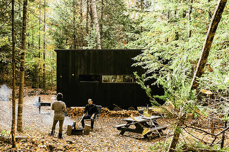 Tiny Rural Rentals - The 'Getaway Cabins' Offer Compact Living for Forest Settings