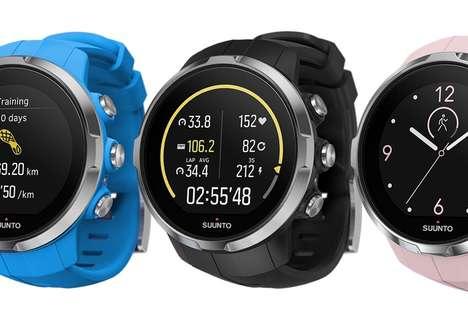 Multisport GPS Watches - The Suunto Spartan Ultra Watch is Designed For Versatile Athletes