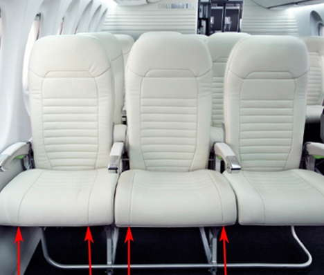 Spacious Airplane Seats - Bombardier C-Series Offer a Wider Middle Seat to Suit Taller Travellers