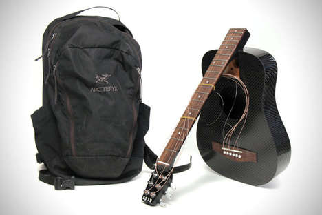 Detachable Carbon Guitars - The Klos Features a Removable Guitar Neck for Easy Travelling