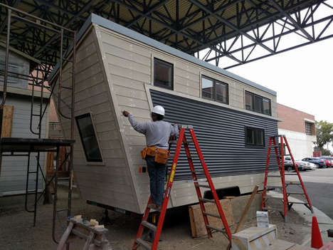 Minuscule Flat-Pack Houses - Oakland is Offering Tiny Portable Homes as a Solution to City Shelters