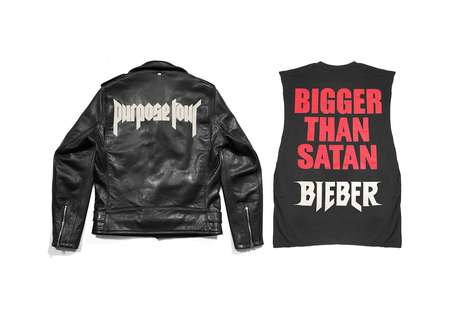 Luxe Retail-Singer Collaborations - Barneys New York Will Feature Justin Bieber's Tour Merchandise