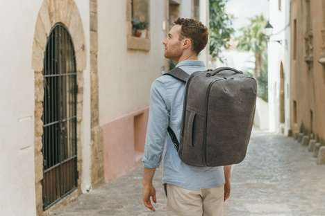 Modular Travel Bags - The 'Arcido Bag' is Specifically Designed for Carry-On Luggage