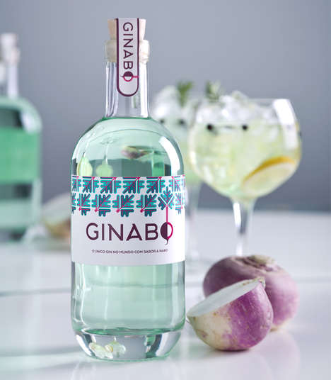 Turnip-Flavored Gin - This Unique Gin Liquor is Flavored with Turnips, Berries and Herbs