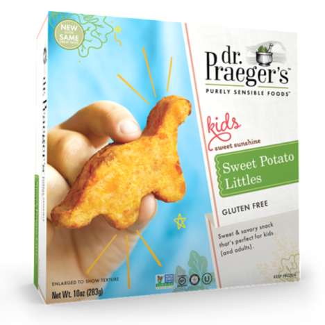 Kid-Friendly Vegetable Bites - Dr. Praeger's 'Littles' Range Features Veggie Patties in Fun Shapes