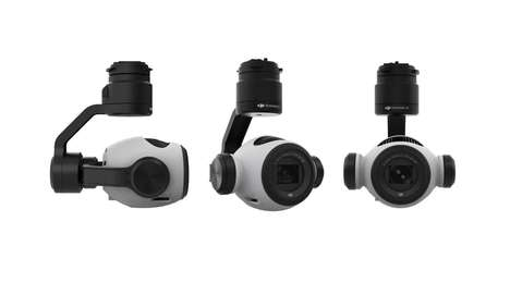 Aerial Zoom Cameras - The Zenmuse Z3 is DJI's First Integrated Aerial Zoom Camera