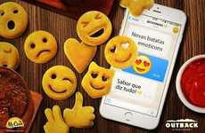 Emoji-Themed Potato Snacks
