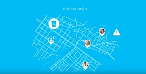 Connective Travel Apps - The Group Connect App Lets Users Track Their Friends Using GPS