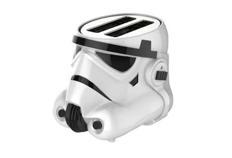 Sci-Fi Soldier Toasters - This Modern Kitchen Appliance Design is Shaped Like a Stormtrooper Helmet