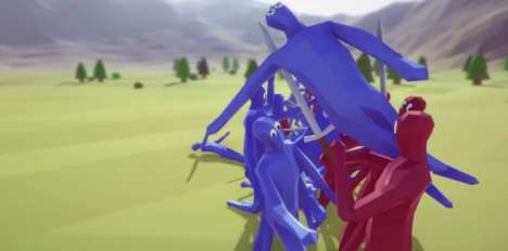 Virtual Battle Simulators - The 'Totally Accurate Battle Simulator' Uses Computers to Imitate Combat