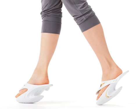 Dancer-Training Sandals - The Jackson Walk Jet Lower Body Training Shoes Increase Leg Muscles