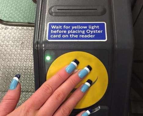 Transportation Card Manicures