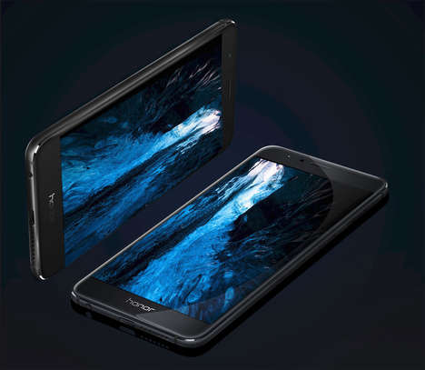 Sleek High-End Smartphones - Huawei's 'Honor 8' Will Compete with the Top Smartphones