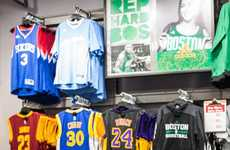 Basketball Player Retail Appearances