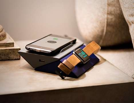 Wireless Multi-Device Chargers - The MonoCharge Provides a Cord-Free Pad to Reboot Tech Devices