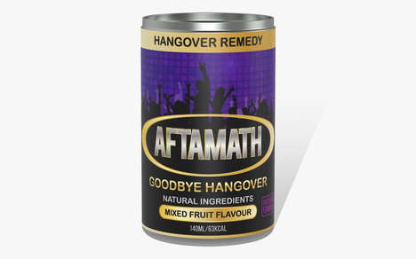 Hangover-Curing Drinks - 'Aftermath' is a Function Drink That Eases Hangover Symptoms