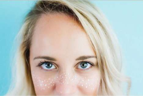 Faux Freckle Cosmetics - This Music Festival Makeup Look Recreates Metallic Beauty Marks