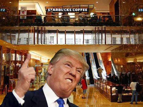 "Conditional Gift Card Pledges - The Payola Website is Urging Starbucks to ""Dump Trump"""