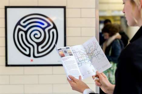 Underground Art Tours - 'The Art Tube Map' is the TfL's Guide to Art in the Subways of London