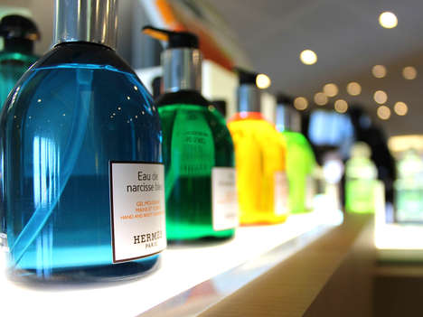 20 Fragrance-Themed Retail Innovations - From Luxe Perfume Shop Pop-Ups to Temporary Scent Galleries