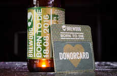 Organ Donation-Supporting Beers - BrewDog is Encouraging Consumers to Register as Organ Donors