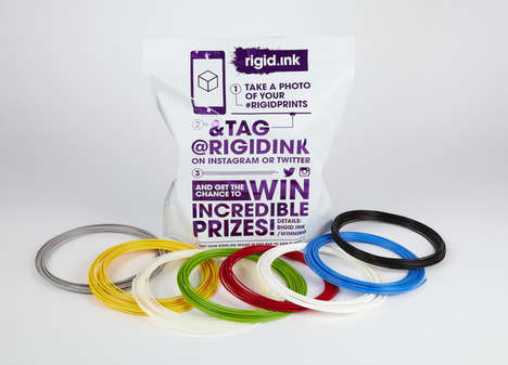 Filament Subscription Services - The rigid.ink Club Delivers Assorted 3D Printing Filaments