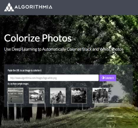 AI Colorization Software - 'Algorithmia' Uses Deep Learning to Colorize Black and White Photos
