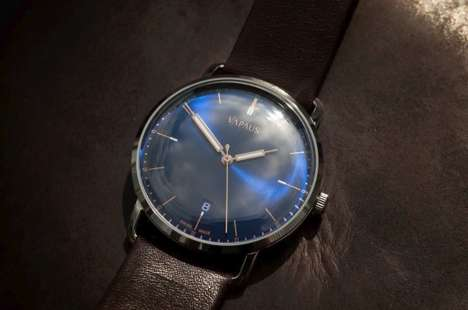 Hand-Wound Watches - The Veli Watch by VAPAUS is Inspired by the Style of the 1950s