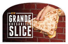 Handheld Tortilla Sandwiches - Taco Bell's New Grande Quesadilla Slice is Made for Eating on the Go