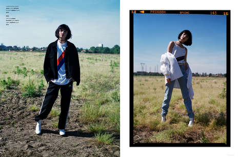 Sporty Suburban Editorials - The Ones 2 Watch 'Field of Dreams' Series Boasts Sporty Casuals