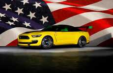 Fighter Jet-Inspired Cars - This New Ford Mustang is Inspired By a World War II Fighter-Bomber