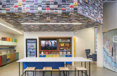 Music-Themed Offices - The Pandora Office in Minneapolis Features Musical Decor Details