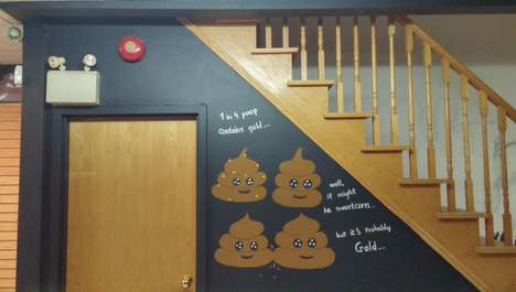 Bodily Waste Cafes - The Poop Cafe Dessert Bar Offers Feces-Inspired Foods and Drinks