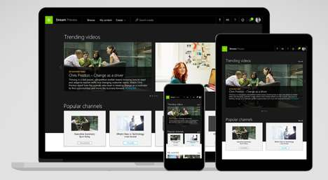 Workplace Streaming Services - Microsoft Stream is a New Video Sharing Platform for Work