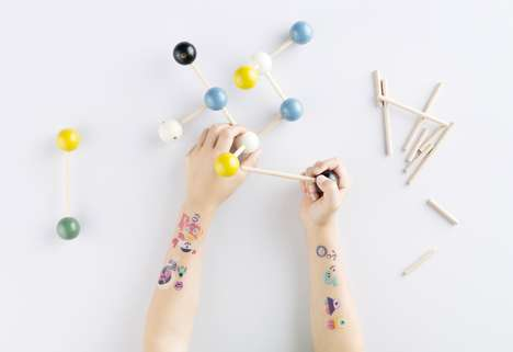Kid-Friendly Tattoo Transfers - Tattyoo's Temporary Tattoos for Kids Feature Fun Prints