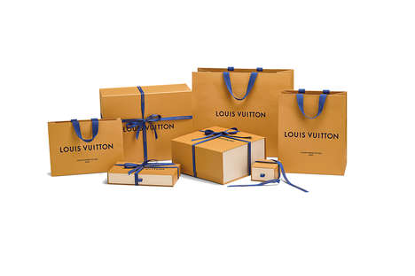 Luxe Eco-Friendly Packaging - Louis Vuitton is a Getting a New Range of Saffron Luxury Packaging