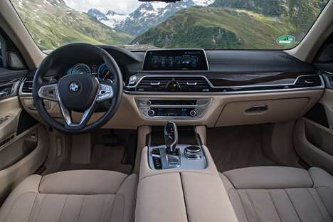 Eco-Friendly Limousines - This BMW Limousine Offers Fuel-Efficient Electric Driving Modes
