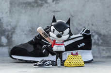Famous Feline Sneaker Series - BAIT Released a Limited Edition Felix the Cat Collection