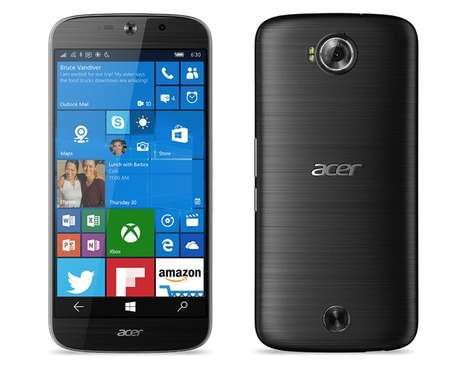 Curved Compact Smartphones - This Acer Smartphone is Available In Unlocked Configuration
