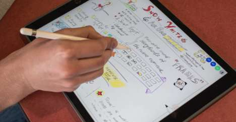 Collaborative Sketching Apps - The 'Lotus' App Lets Remote Users Draw on the Same Virtual Page