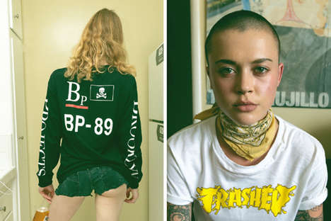 Satirically Branded Streetwear - Brooklyn Projects Reimagined the Ralph Lauren and Thrasher Logos