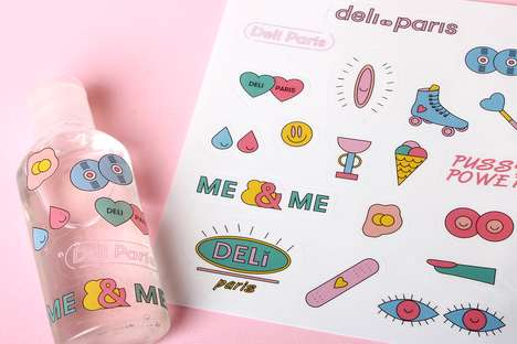 Feminist Webzine Branding - Deli Paris is an Empowering Publication Marketed to Young Women