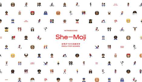 Inclusive Female Emojis - The She-Moji Keyboard is Designed to Help Women Express Themselves