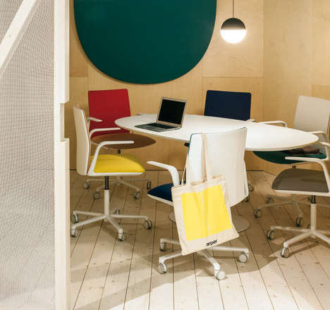Chic Customizable Office Chairs - Arper's Modular 'Kinesit' Chair Comes in Hundreds of Colors