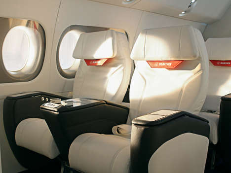 Sporty Private Jets - The 'SportJet' is Specifically Designed to Carry Professional Athletes