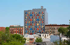 Affordable Single Housing Units - Alexander Gorlin Designed a Building for Single Low-Income Tenants