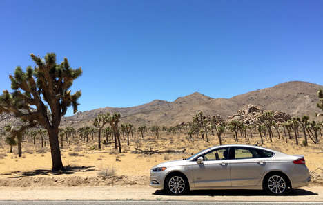Tequila-Based Car Parts - Ford Repurposes Waste Agave from Jose Cuervo Plantations to Build Cars